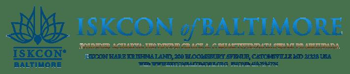 ISKCON of Baltimore – Hare Krishna Temple of Baltimore Logo